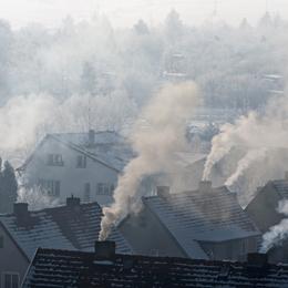 Dymy z kominów